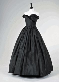 The original black gown made for Lady Diana Spencer for her first public appearance as fiancé of Prince Charles sold for over two hundred thousand dollars in June 2010. Diana had lost so much weight prior to this appearance, the dress had to be completely re-made by the designers, David and Elizabeth Emanuel. The dress was sold along with an original copy of the invoice.