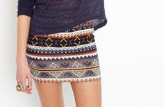would totally work with the skirt I bought earlier today!
