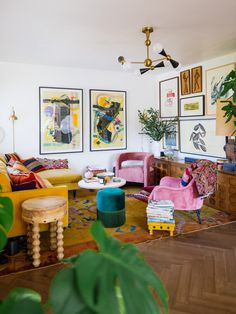 Living Room Decor, Living Spaces, Living Rooms, Bedroom Decor, Los Angeles Homes, Colourful Living Room, Room Goals, Engineered Hardwood, Home Look