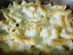 Pasta al forno con besciamella ai formaggi