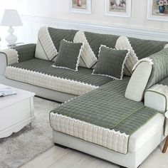 1 piece per set Sofa Covers Fleeced Fabric Knit Eco-Friendly Anti-Mite Manta Sofa Slipcover Couch Cover for living/Drawing Room Sofa Set Designs, Sofa Design, Furniture Covers, Upholstered Furniture, Drawing Room Furniture, Cheap Sofas, Corner Sofa Set, Elegant Sofa, Couch Covers