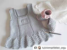 Quote # braids … # # for # making – # @ tulininmarifetleri_orgu # # # # green # # electroplate … – kinder mode Baby Girl Patterns, Baby Knitting Patterns, Crochet Pattern, Girls Tunics, Girls Rompers, Baby Girl Party Dresses, Baby Dress, Knitting Baby Girl, Knit World