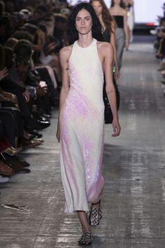 Alexander Wang New York Spring/Summer 2017 Ready-To-Wear Collection - Mermaid Glitter Dress