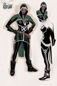 Rogue (Circa Uncanny Avengers 2015) by Daniel Acuna