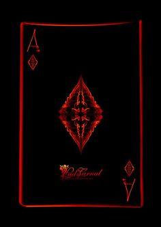 Ace of diamonds by LadyCarnal.deviantart.com