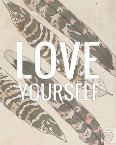 Love Yourself by vol25 on Etsy, $24.00