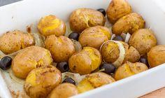 Faustschlag-Kartoffeln (Batatas ao murro)