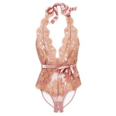 L'Agent by Agent Provocateur Iana Teddy ($200) found on Polyvore featuring intimates and halter top
