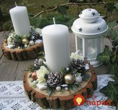 70 Simple And Popular Christmas Decorations Table Decorations Christmas Candles DIY Christmas Centerp 70 Simple And Popular Christmas Decorations Table Decorations Christmas Candles DIY Christmas Centerpiece Christmas Crafts Christmas Decor DIY Centerpiece Christmas, Christmas Window Decorations, Christmas Candles, Diy Christmas Ornaments, Rustic Christmas, Christmas Themes, Simple Christmas, Lollipop Decorations, Candle Decorations