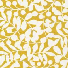 134604 Branch | Citron Canvas from First Light by Eloise Renouf for Cloud9 Fabrics