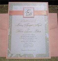 Invitation #Lightpink #Blush #Wedding