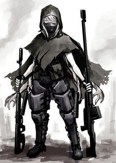Hellshock Anime Art, аниме, Hellshock, Anime Original, длиннопост