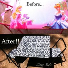 Lizzy Sue's: DIY kids table makeover!
