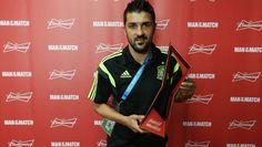David Villa-Brazil2014-Spain vs. Australia-ManOfTheMatch