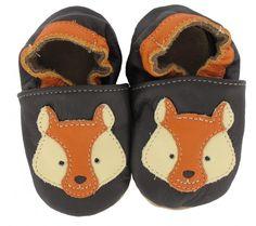 Krabbelschuhe Fuchs von baBice | Baby Krabbelschuhe aus Leder | fox moccasins baby | handmade | Krabbelpuschen | Süße Babyschuhe mit Füchsen | leather moccasins baby   #babyschuhe #moccasins #kidsfashion