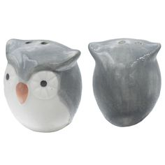 Amazon.com: Cute owl salt and pepper shakers, 1: Kitchen & Dining