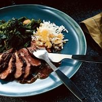 Pan-seared Duck Breasts With Orange Chipotle Sauce Recipe