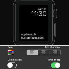 """Get our Free iOS app!!  """"Custom Faces"""" now available on the #AppStore Make your own custom text faces Check website link in bio  #applewatch #applewatchface #applewatchfaces #applewatchcustomfaces #wallpaper #applewatchwallpaper #watchface #watchos3 #watchos #apple #applestore #iphone #iphone7 #iphone7plus #iphone6 #iphone6plus #iphone6s #iphone6splus #ipad #iphoneonly #applewatchsport #applewatchedition #applewatch2 #applewatchseries2 #customfaces @mdxmedia #freeapp #app #iosapp #iphoneapp"""