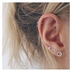 Ear piercings ❤ liked on Polyvore featuring jewelry, earrings, pin jewelry and pin earrings