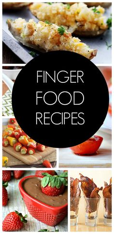 Lots of Finger Food Ideas. I love appetizers. Finger Food Appetizers, Party Finger Foods, Appetizer Recipes, Mini Appetizers, Party Recipes, Appetizer Ideas, I Love Food, Good Food, Yummy Food