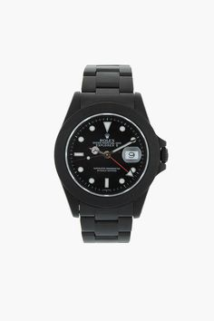 Watch lovers and collectors: online retailer SSense has made available several pieces from Black Limited Edition, a series of vintage stainless steel Rolexes turned into collector's items. With the...