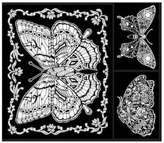 Pin by Dawn Dessano on Dawn D Butterfly coloring page