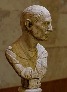 Bust of a lictor. Saint-Petersburg, The State Hermitage Museum. (Photo by I. Sh.).