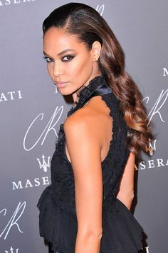 Get holiday hairspiration from these stunning celebrities.