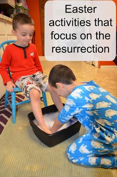 I feel like Easter has always sort of snuck up on me, and I put very little thought into what to do with my kids during the weeks leading up to it. As my k