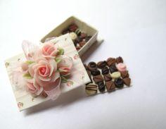 Chocolates box layers, Michelle Archer