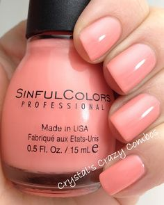 Sinful Colors - Orange Cream (Sugar Rush Collection) / CrystalsCrazyCombos
