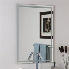 Decor Wonderland SSM13 Frameless Etch Mirror