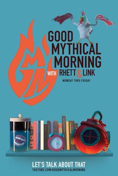 7919f3e9cd848 Good Mythical Morning Poster  rhettandlink  poster  design Good Mythical  Morning