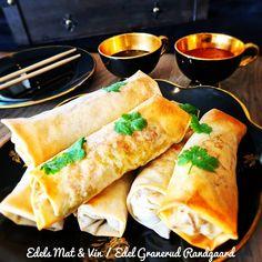 Edels Mat & Vin: Vårruller med Crispy Duck Ethnic Recipes, Food, Essen, Meals, Yemek, Eten