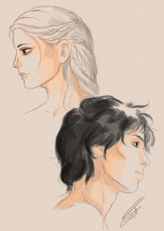 Manon and Dorian (A Song of Ice and Fire by Sempern0x on DeviantArt)