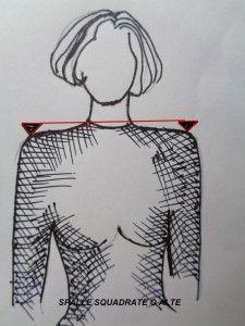 spalle squadrate