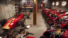 DUCATI MOTORCYCLE DREAM GARAGE!