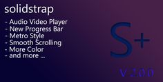 Solidstrap - Metro Style Bootstrap Skin