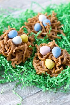 Bird's Nest Cookies | Fireflies and Mud Pies