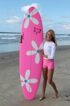 Ride the waves with a pink surfboard! Pinned by Cindy Vermeulen. Please check out my other 'sexy' boards. Pretty In Pink, Pink Love, Pink Summer, Summer Fun, Pink Beach, Summer Colors, Vintage Pink, Tout Rose, Rosa Pink