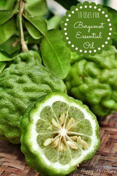 uses for bergamot essential oil