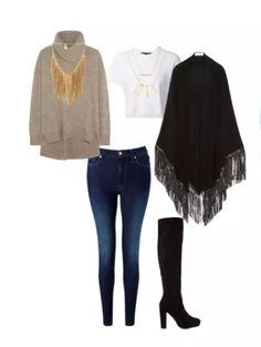 Outfit ideal para un viernes casual. Si eliges jeans procura que sean obscuros