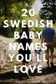 Swedish meatballs might be a pregnancy craving so why not go the extra mile and look at these Swedish baby names? These Scandinavian baby names are perfect for girl names and boy names and both beautiful and unique! Boy Names Creative, Unique Boy Names, Unusual Baby Names, Elegant Boy Names, Hipster Baby Names, Hipster Babies, Baby Girl Names, Scandinavian Baby Names, Scandinavian Style