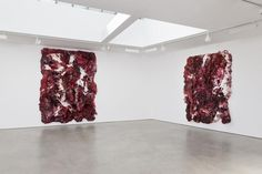 """""""This material, there's enough of it… it allows me to minimize the gestural."""" - Anish Kapoor"""