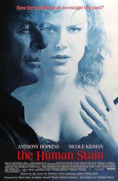 The Human Stain - Anthony Hopkins, Nicole Kidman, Ed Harris, Gary Sinise Netflix Movies, Hd Movies, Movies Online, Movies Free, Cinema Movies, Film Movie, Nicole Kidman, Series Movies, Movies And Tv Shows