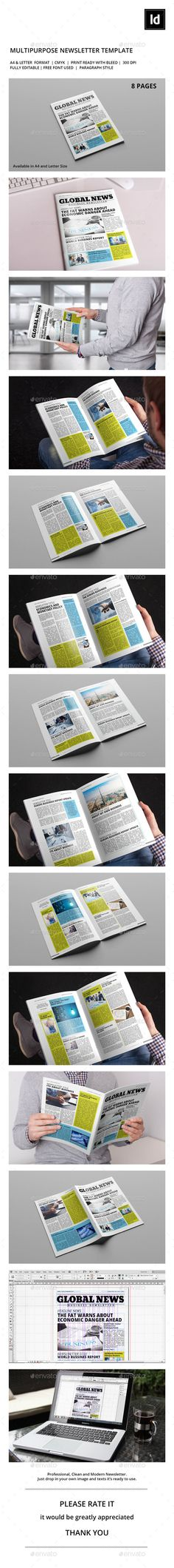 print newsletter template free