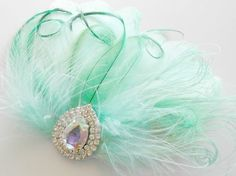 Bridesmaid Bride Feather Hair Accessory Feather by parfaitplumes, $35.00