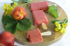 Terveelliset Smoothie -jäätelöt. Makuna mansikka-nektariini-banaani. Treats, Desserts, Sweet Like Candy, Tailgate Desserts, Goodies, Deserts, Postres, Dessert, Sweets