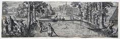 Philipp Galle: Fischfang mit Schleppnetz Fischerei fishing trawl Pêche 1582