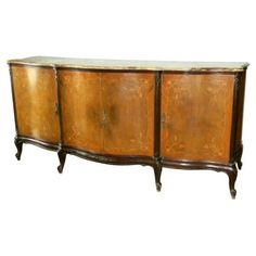 Check out this item at One Kings Lane! 19th-C. French Marquetry Buffet